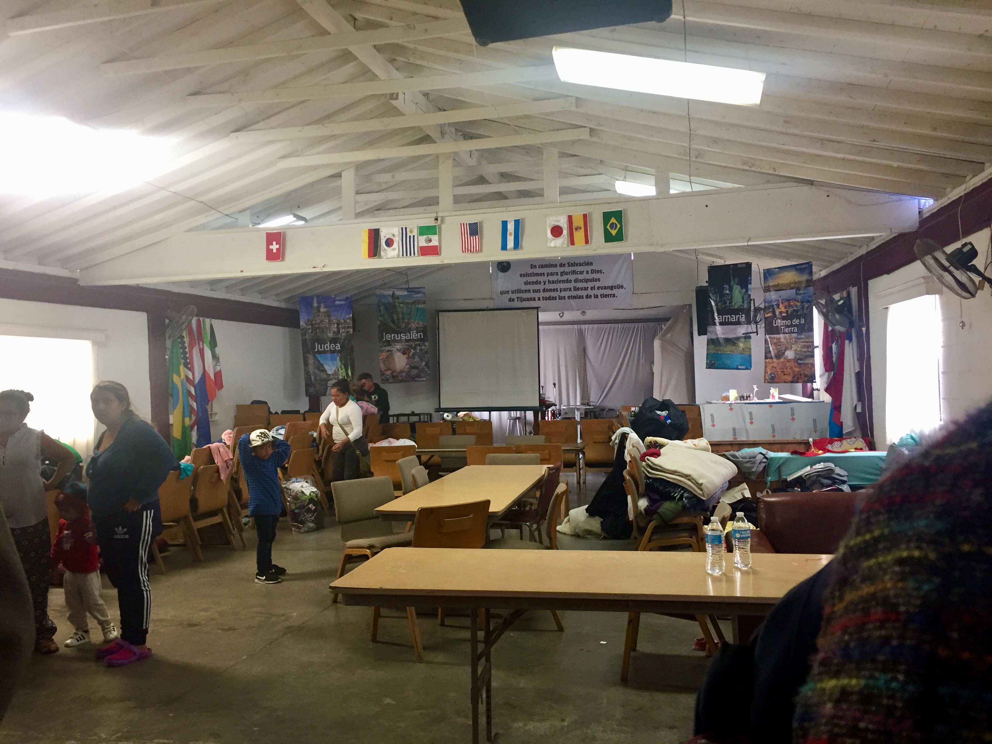 Sanctuary becomes shelter at The Way of Salvation Christian Baptist Church (Tijuana)
