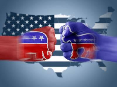 Politically polarized