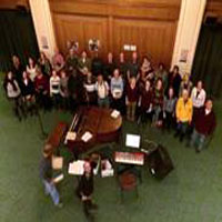 Central Presbyterian Church congregation attending Peoples Presbyterian Church