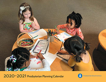 20-21 Planning Calendar cover