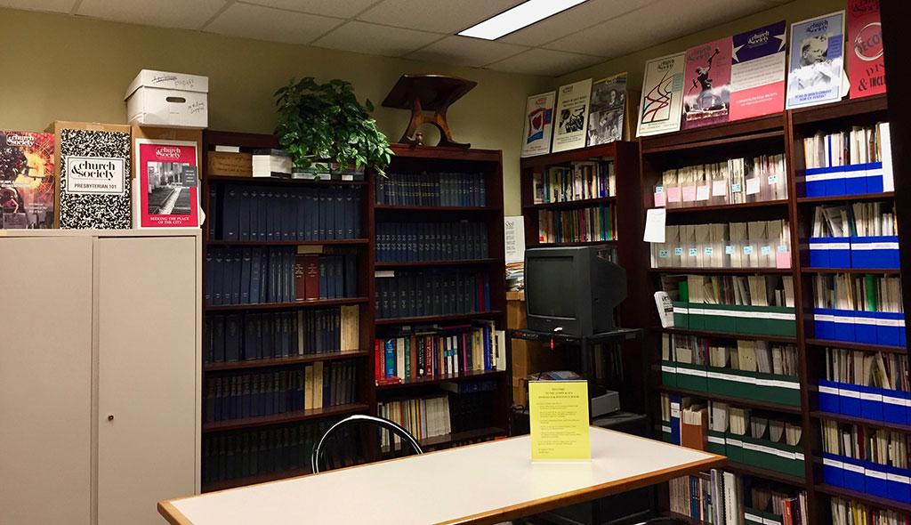 ACSWP resource room