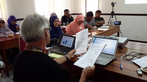Bernie says he enjoys being in a position of always learning, always struggling to catch up and participate in all God is doing in Indonesia. Photo by Farsijana Adeney-Risakotta.