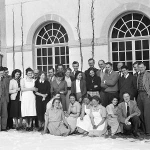 Bossey Graduate School class of 1952/53. (Photo provided)
