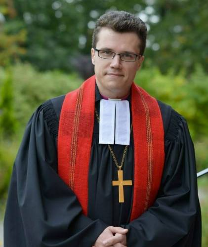 Archbishop Dietrich Brauer, pastor of Peter and Paul Cathedral in Moscow, is the first native Russian and the youngest person to be elected to lead the Lutheran Church in Russia. (Photo courtesy of Dietrich Brauer)
