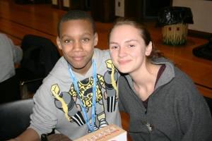 child and tutor at Bryn Mawr