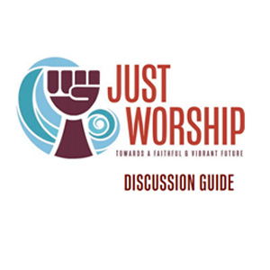 Just Worship discussion guide logo