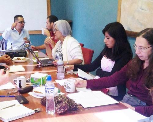 Faculty meeting coffee break
