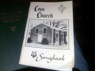 Hymnsing books