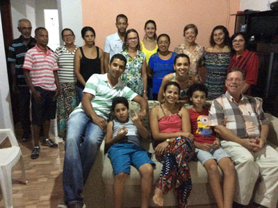 Family and friends who came to celebrate Jadna's birthday.