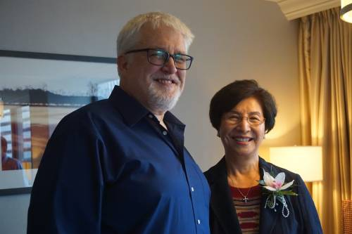 Mark Hinds and Grace Kim. Photo by Emily Enders Odom.