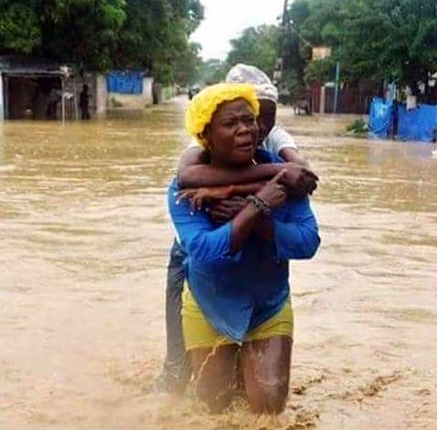 Flooding, mudslides and risk of cholera remain concerns as the people of Haiti begin the long process of rebuilding their lives after Hurricane Matthew. (Photo courtesy Lutheran World Federation)