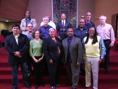 Attendees at the October 24-26, 2016 Urban Ministry Network meeting of the Presbyterian Church (U.S.A.) (Photo provided)