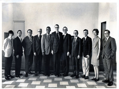 SBL faculty in the early 1970s