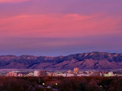 Albuquerque skyline. (Photo provided)