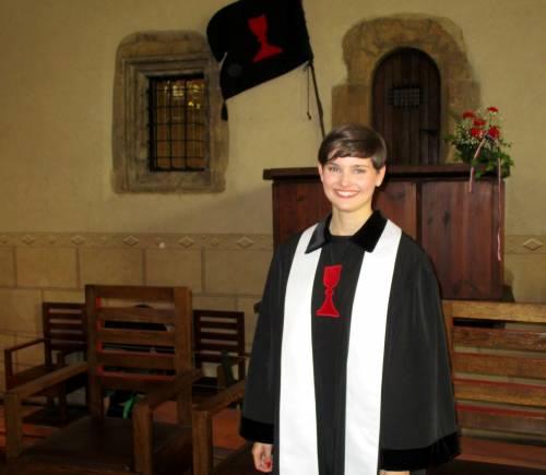 Martina Viktorie Kopecká of the Czechoslovak Hussite Church. (Photo provided)