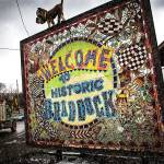 Welcome to Historic Braddock sign