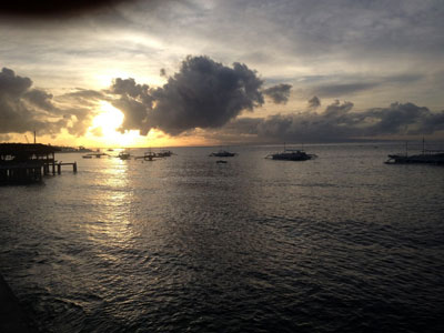 Dawn at the pier of Hilongos, Leyte Picture by Cobbie Palm
