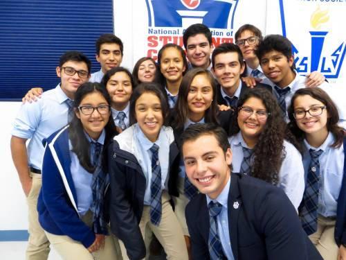 Presbyterian Pan American School Student Council 2016
