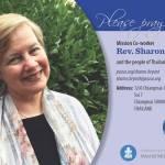 Sharon Bryant prayer card