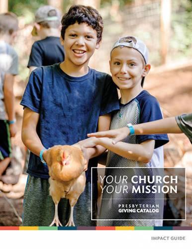 Presbyterian Giving Catalog Impact Guide Cover