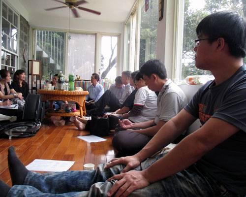 Pastor Groups Sharing Together