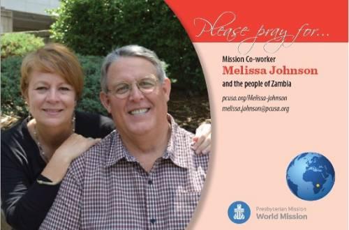Melissa Johnson Prayer Card