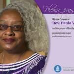 Paula Cooper prayer card