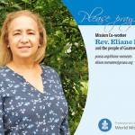 Eliane Menezes prayer card