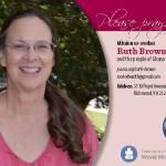 Ruth Brown prayer card