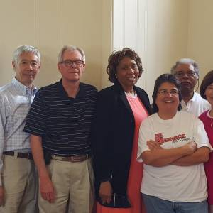 SDOP National Committee Steering Committee Members (L-R): Johnnie Monroe, Wesley Woo, Joseph Johnson, Sharon Ware, Rebecca Reyes, John Etheredge, Sarah Jane Moore and Lisa Leverette. Photo provided by SDOP