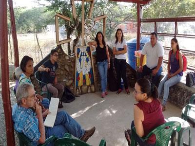 Meeting with Venezuelan church leaders