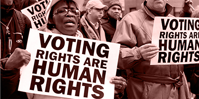 Voting_Rights_are_Human_Rights-Steve_Carbor-NYC_2012