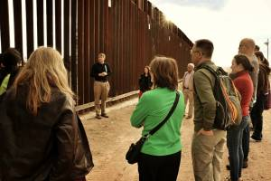 Biblical Reflections at the wall dividing the US from Mexico