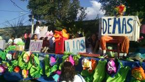 """Forgive One Another"": The Float Delegation of the Lirio de los Valles Delegation in the Marcha Para Jesus"