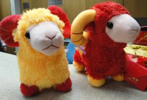Happy Chinese New Year of the Sheep!