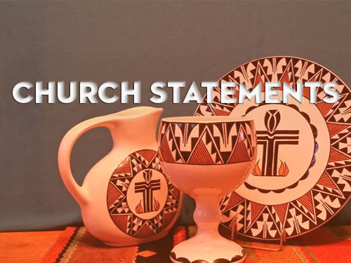 Church Statements badge
