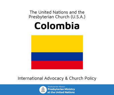 Colombia fact sheet cover image