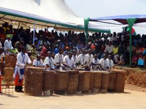 Traditional drummers