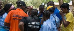 Sports Day at Justo Mwale (photo by Johanneke Kroesbergen)