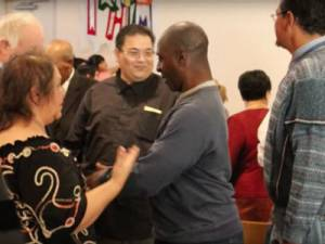 2016 Walton Award winner, First Thai-Laotian Presbyterian Church in Las Vegas is made up of many nationalities. Their ministry blossomed when they started a homeless ministry for those living in the bushes around the community. —Image captured from First Thai-Laotian video