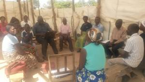 Meeting with CHE Trainers in Kabwe, Zambia