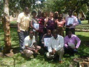 Local CHE Trainers with CCAP Synod of Zambia