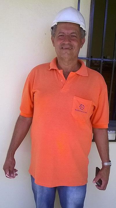 Jamie in his quarry work clothes