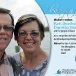 Rev. Gordon and Dorothy Gartrell Prayer Card