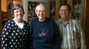 While visiting churches in Washington state we stayed with Cathy Reasoner, with whom we worked in Brazil from 1990 to 1998