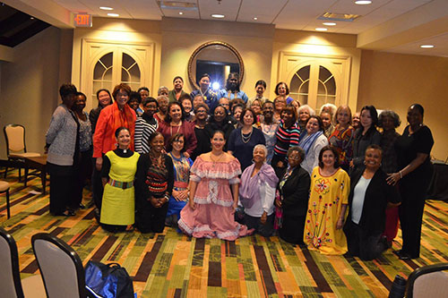 Women of Color group photo