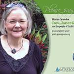 Rev. Janet Guyer Prayer Card