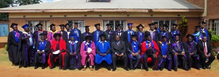 University of Livingstonia faculty members and guests at Launching of the Masters Program, 31 May 2017.