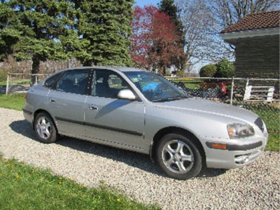 My gently used car, God's provision