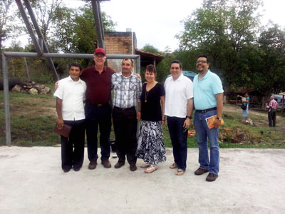 """Leaders from the Presbyterian Church of Honduras, the PCUSA Honduras Mission Network, and World Mission"""""""